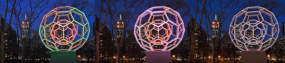 Villareal&rsquo;s BUCKYBALL on Flatiron District.<br />