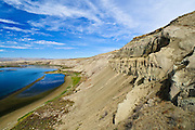 White Bluffs of Hanford Reach National Monument and Saddle Mountain National Wildlife Refuge, central Washington.