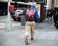 Buckle Backpack, Outside NYFWM Day 1