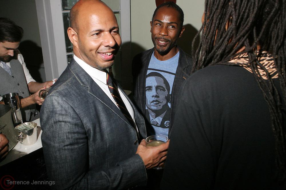 Emil Wibekin at The VIBE Magazine & Memsor Kamarake and Beverly Smith Salute to Black Men In Fashion ? NY Fashion Week Fall ?08 held Norwood on September 11, 2008