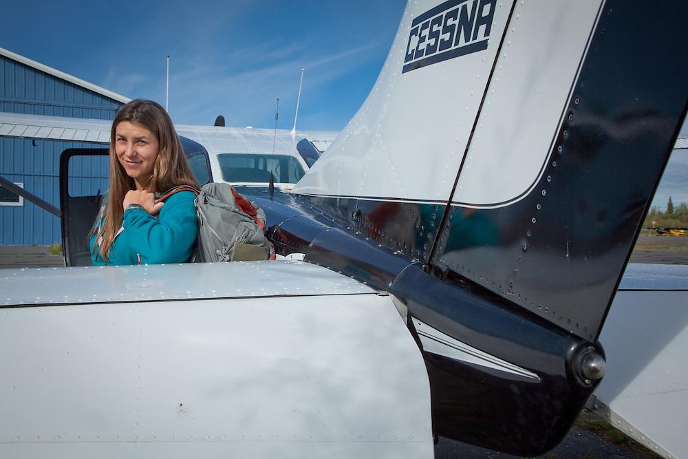 Bush pilot, Anna Anderson, Copper Vally Air, Glennallen, Alaska