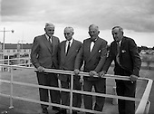 1958 - Shannon Estuary Development Panel and Officials at Dublin Airport.