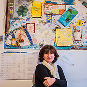 Dina Adam, 54 years old, from mainlad Greece, she lives in Molyvos, where she is helping Melinda McRostie, founder of the NGO Starfish. Together with Melinda, Dina was one of the first one to help the first refugees arrived in Molyvos in May 2015, before anybody else in the world knew about Lesbos and the situation there