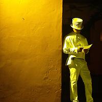 Nightlife in Cartagena.Hotel Sofitel Santa Clara, built on top of the convent.
