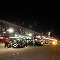 Pit Lane during Night Practice