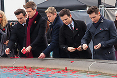 2014-11-11 Armistice Day marked by Silence In The Square