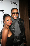 """Tantyana Ali and BJ Coleman pictured at the cocktail party celebrating Sean """"Diddy"""" Combs appearance on the """" Black on Black """" cover of L'Uomo Vogue's October Music Issue"""