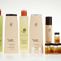 This 3-month hair strengthening treatment program from Ojon helps promote healthier-looking hair. This daily treatment provides effective amounts of essential nutrients, anti-oxidants & amino acids needed to promote healthy hair. Hair regains its density and shine. Receive: (1)8.44oz SWA Stimulating Cleanser, (1)8.44oz SWA Conditioner, (1)2.5oz SWA Hair Juice, (8)0.24oz SWA Concentrated Serums, (1) 8.44oz Thickening shampoo, and (1) 8.44oz Thickening conditioner. Made in Italy.