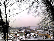 Capuchin mountain in Winter, Salzburg Austria
