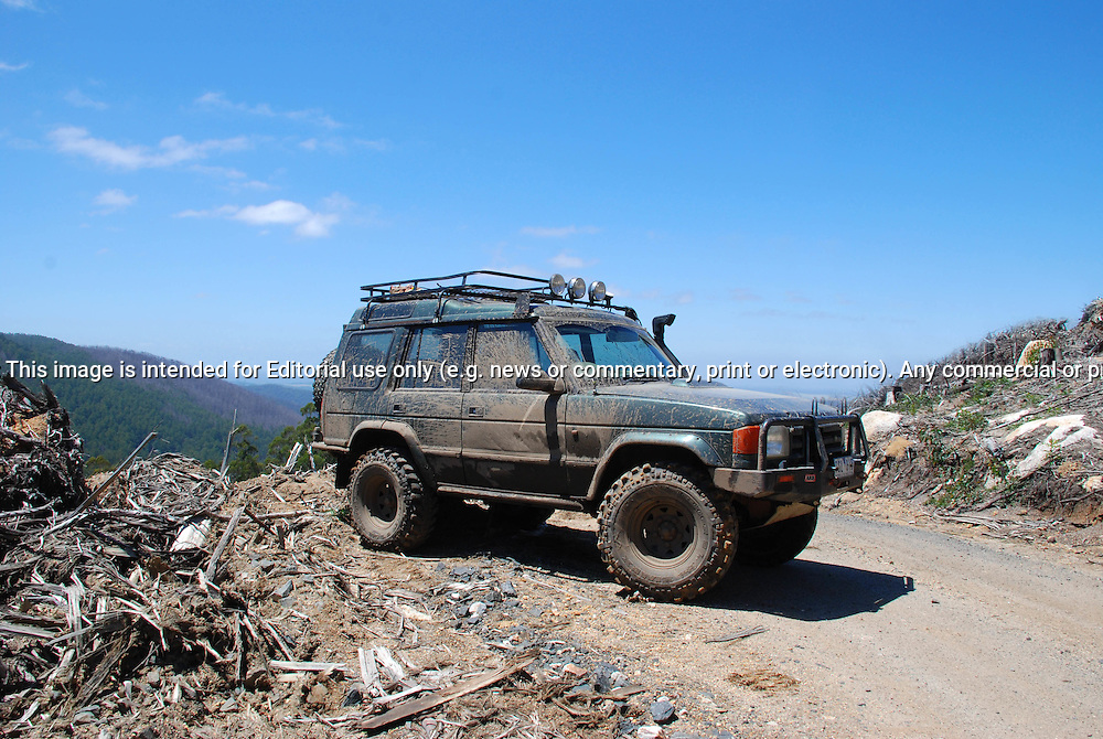 1995 Land Rover Discovery V8 Green In Action On 4wd