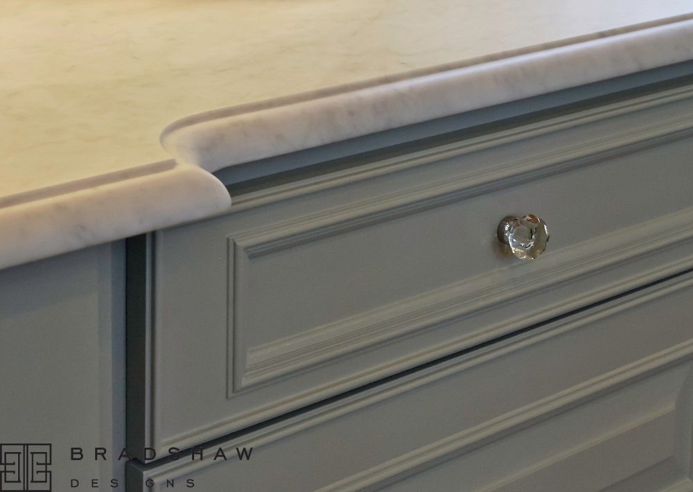 7. Countertop selections.