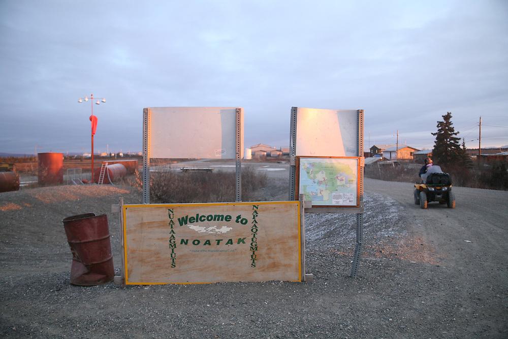 Airport in Noatak, Alaska. 2009