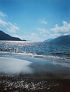 Six Senses Hideaway Con Dao one-kilometre, white sand beach.