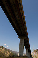 View of the venezuelan major bridge called viaduct #1. This bridge is the key route to the country's main airport in Venezuela. Feb 27 2008. (ivan gonzalez).