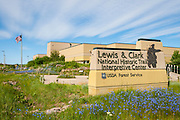 Lewis and Clark National Historic Trail Interpretive Center in Great Falls, Montana.