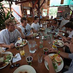 2012 August 05: Lunch at El Rancho in Playa Sámara, Costa Rica.