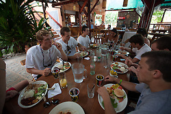 2012 August 05: Lunch at El Rancho in Playa Sámara, Costa Rica.