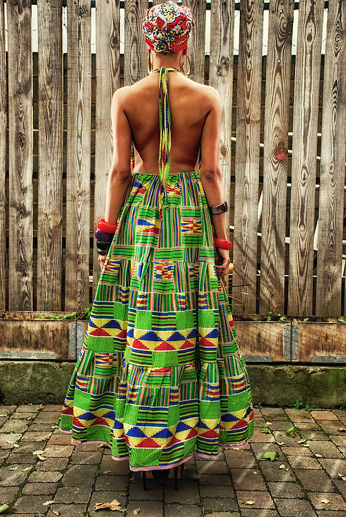Samba<br /> The Rhythm of the styles of the islands immersed in the patterns and Colors of the motherland. Green, vibrant and freshly squeezed with excitement <br /> <br /> Model: Samar Khoury<br /> MUA: Latona Roberts &amp; House of Bodin <br /> Assistant: Christopher Nzeweta