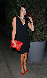 Lizzie Cundy  attends LCM a/w 2015: Christopher Raeburn and Mens Health Party at The Sanderson Hotel, Berners Street, London on Saturday 10 January 2015