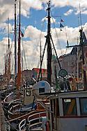 Nyhavn Fleet Copenhagen Denmark