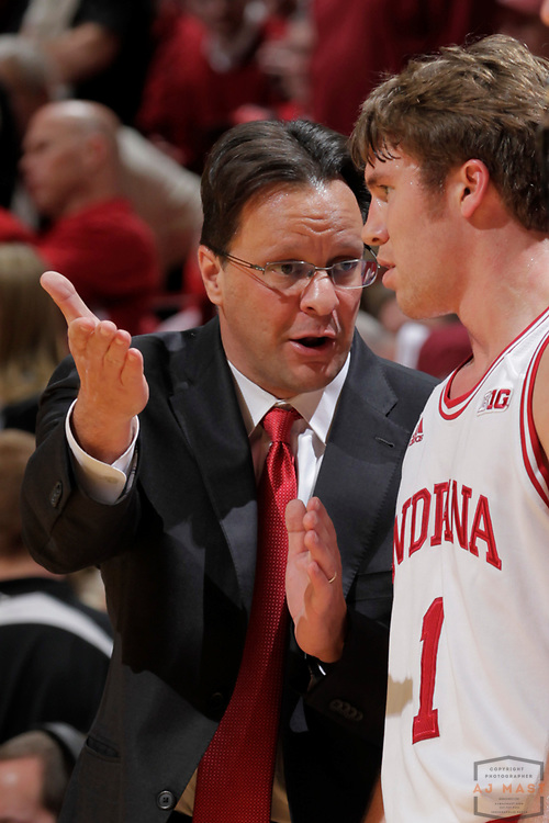 15 January 2013: Indiana head coach Tom Crean as the Indiana Hoosiers played the Wisconsin Badgers in a college basketball game in Bloomington, Ind.