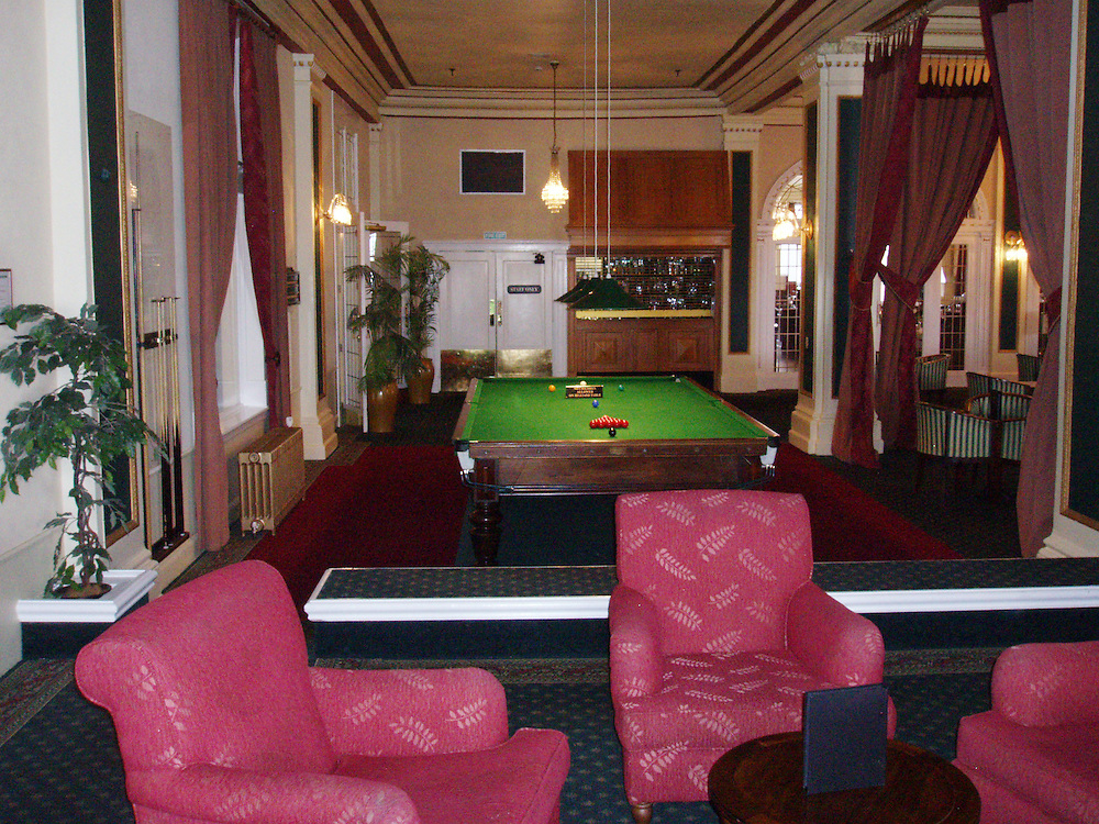 Billiard Room, Chateau Tongariro Hotel, Mt Ruapehu, National Park, New Zealand, Thursday, December 13, 2012. Credit:SNPA / John Dore