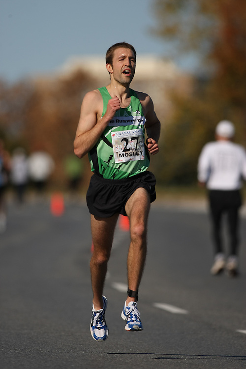 (Ottawa, ON---18 October 2008) RICHARD MOSLEY competes in the 2008 TransCanada 10km Canadian Road Race Championships. Photograph copyright Sean Burges/Mundo Sport Images (www.msievents.com).