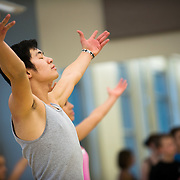Momix visited Gonzaga University campus for a master dance class. (Photo by Gonzaga University.)