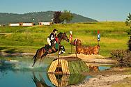 Eventing (equestrian triathlon), Cross Country event, The Event at Rebecca Farms, Kalispell, Montana