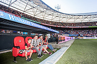 ROTTERDAM - Feyenoord - Valencia , Eredivisie, Voetbal, Seizoen 2016-2017, Feyenoord stadion de Kuip23-07-2016 , Vriendenloterij