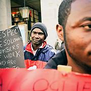"""""""Casa, reddito e dignità per tutti"""" Corteo rifugiati"""