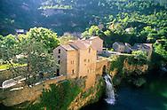 France, Languedoc Roussillon, Lozère, Cévennes, Gorges du Tarn, Saint-Chely-du-Tarn