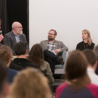 Storyfort: journalism panel discussion with Greg Hahn, Treefort Music Fest 2017 at the Owyhee, downtown Boise, Photo Patrick Sweeney