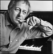 Composer and conductor André Previn.