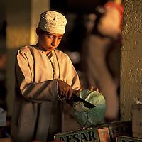 Omani boy, Souq, Market, Sinaw, Oman, Arabian Peninsula
