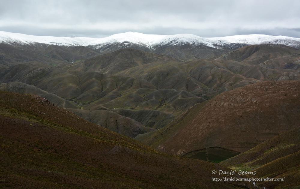 Mountain views near Cochabamba, Bolivia