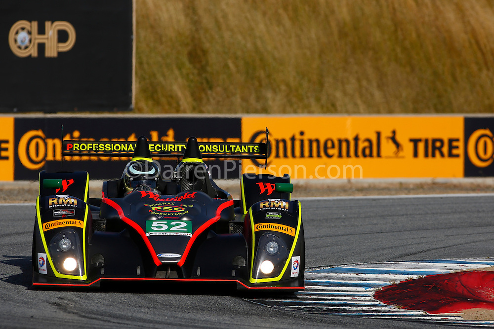 #52 PR1/Mathiasen Motorsports ORECA FLM09: Robert Alon, Tom Kimber-Smith