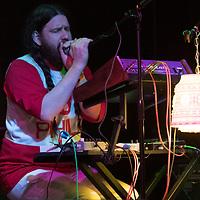 Treefort Music Festival, Boise State alumnus Grant Olsen of Phantahex performing at The Shredder. Allison Corona photo.