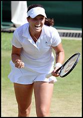 JUNE 29 2013 Laura Robson beats Marina Erakovic