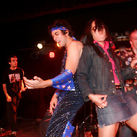 Bjorn Turoque aka Dan Crane was the eventual winner at the NY regional U.S. Air Guitar championship. He had won 2nd place during FOUR previous attempts.  Shot on May 21, 2005 at BB King's Blues Club..