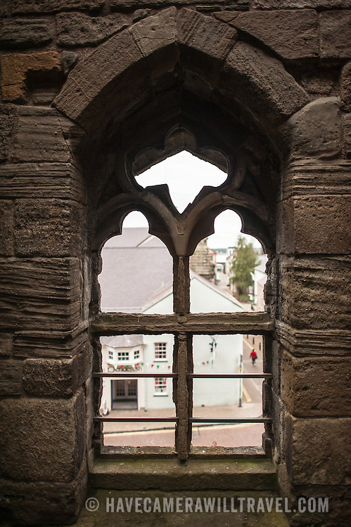 Caernarfon Castle Window Looking Out   Have Camera Will Travel