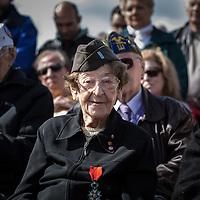 WWII veteran, Ellan Levitsky Orkin 95 y/o, volunteered w/sister, US Army Nursing Corps, in Picauville