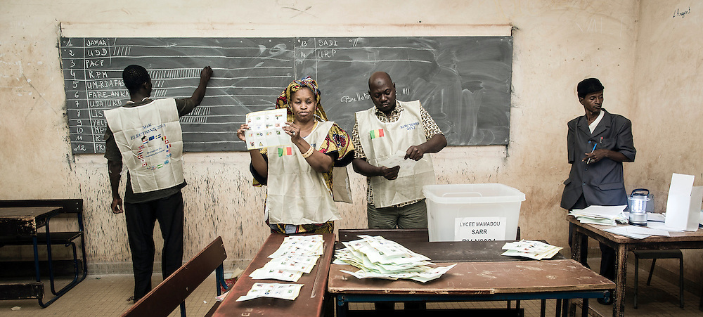 Bamako, Mali 24 November 2013<br />
