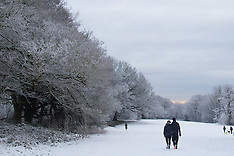 2016-01-17 Snow on Hampstead Heath