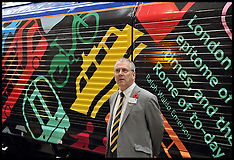 NOV 05 2013 Naming of locomotive 66718 Sir Peter Hendy CBE