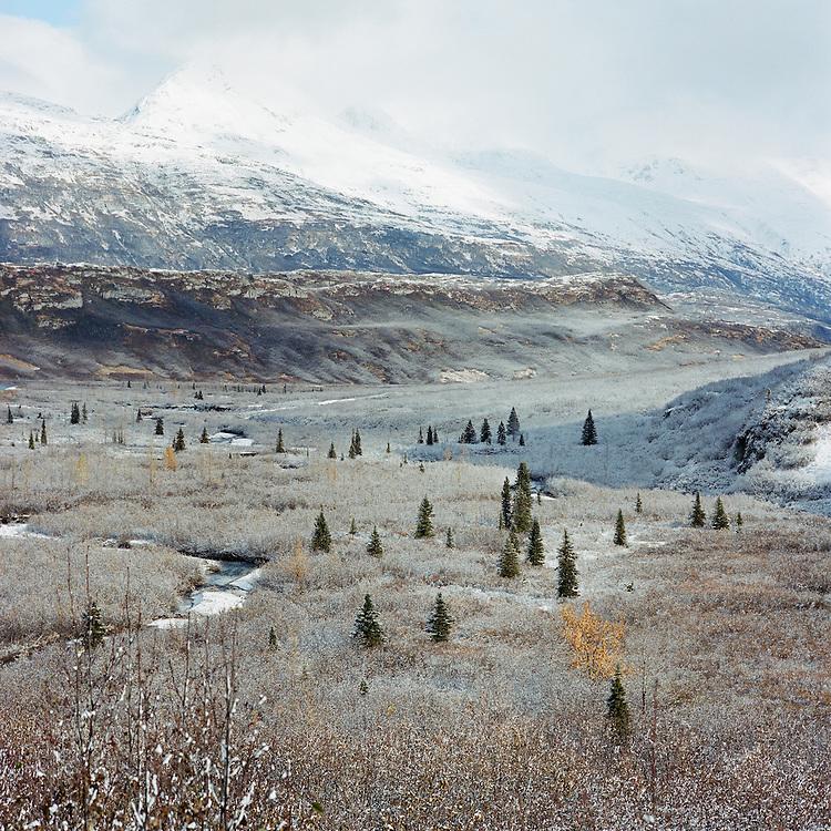THOMPSON PASS, ALASKA - 2007: