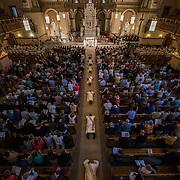 Jesuit Ordination at St. Aloysius Church. (Photo by Gonzaga University)