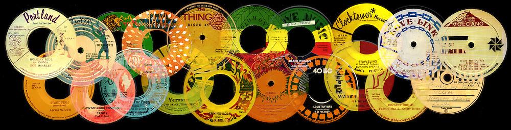 Record Labels .. Reggae Explosion artwork.