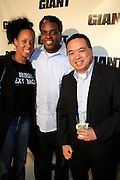 DJ Mecca, Rob Lo and Rob G at The Giant Magazine Party, celebrating cover girl Kimora Lee Simmons and new Editor-in-Chief Emil Wilbekin, the award-winning editor as he unveils his debut issue.