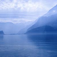 Mountain Lake near Interlaken, Switzerland